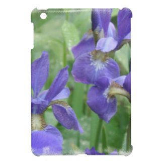 Purple Siberian Iris Cover For The iPad Mini