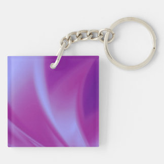 Purple Silks Key Ring