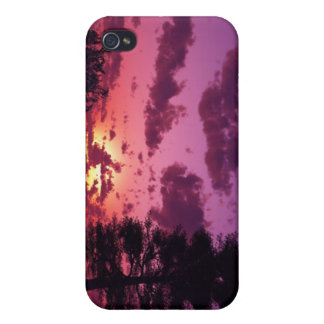 Purple Sky iPhone Case iPhone 4 Cover