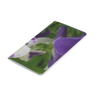 Purple Speckled Blossom Pocket Journal