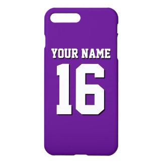 Purple Sports Jersey / Team Jersey iPhone 7 Plus Case