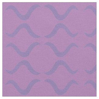 Purple Squiggles Fabric