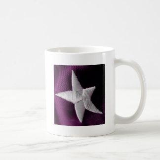 Purple Star Basic White Mug