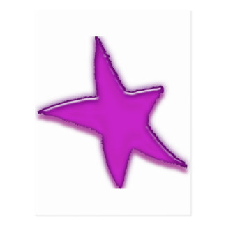 Purple Star Postcard