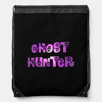 Purple Starburst Skulls Ghost Hunter backpack