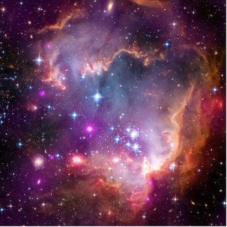 Purple Stars Galaxy Space Astronomy Photo Cutouts