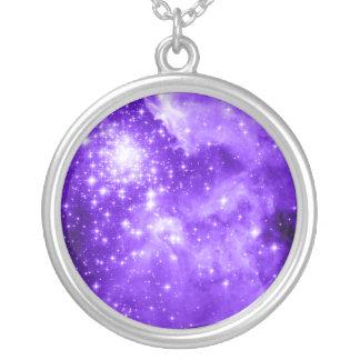 Purple Stars Pendant