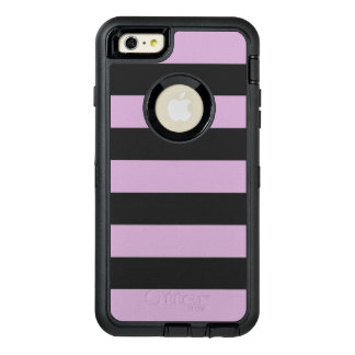 Purple Stripe OtterBox Defender iPhone Case