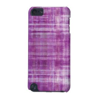 Purple Striped Art Pattern iPod Touch Case