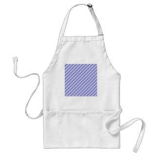 Purple stripes. adult apron