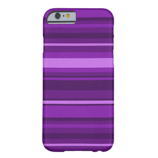 Purple stripes barely there iPhone 6 case