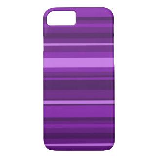 Purple stripes iPhone 8/7 case