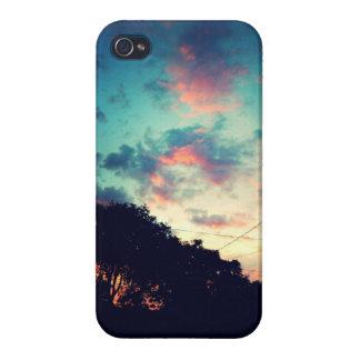 Purple Summer Sky- IPhone 4 case