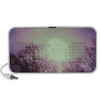 Purple sunset speaker