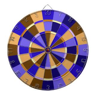 Purple, Tan and Brown Game Room Dart Boards