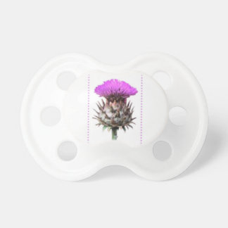 Purple Thistle Photo Art - Scottish Symbol Dummy