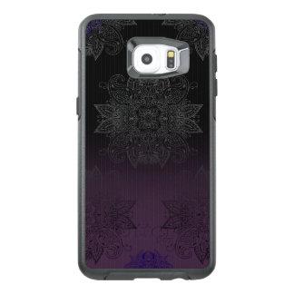 Purple to Black Fade Mehndi