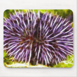 Purple Urchin Mouse Pad