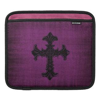 Purple Velvet iPad Sleeve