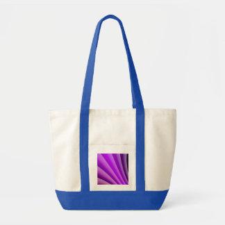 Purple Waves of Pain Art Tote Bag