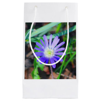 Purple Wildflower Themed Gift Bag