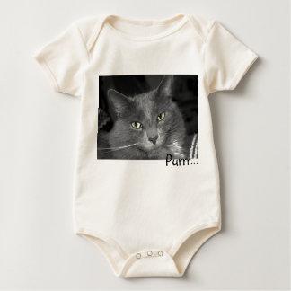 Purr Cat Baby Bodysuit