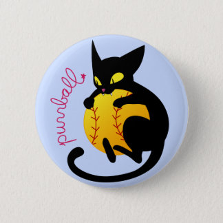 Purrball Flair 6 Cm Round Badge