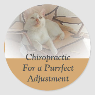 purrfectly Chiropractic Sticker