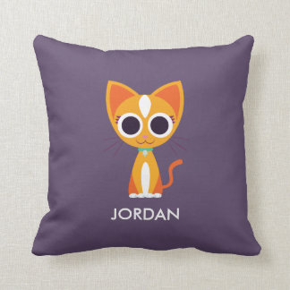 Purrl the Cat Cushion