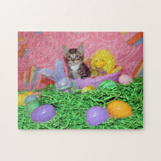 Purrrrfect Easter Jigsaw Puzzle