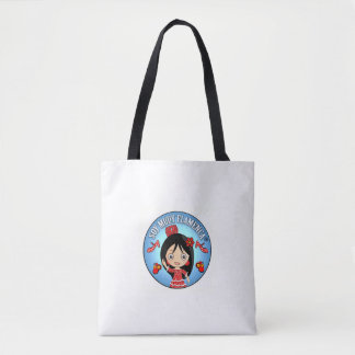 Purse of I am Brown Flamenco Muuy by RetroCharms Tote Bag