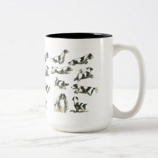 Pursuit eagerness Two-Tone mug