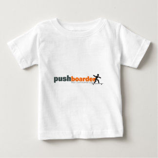 Push Boarder Official Logo Designs Infant T-Shirt