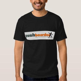 Push Boarder Official Logo Designs T Shirt