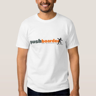 Push Boarder Official Logo Designs T Shirts