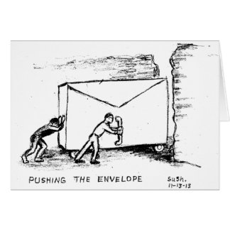 Pushing the Envelope -- Note Card