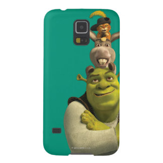 Puss In Boots, Donkey, And Shrek Case For Galaxy S5