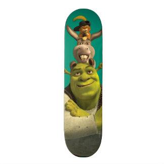 Puss In Boots, Donkey, And Shrek Skate Decks