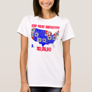 PUT A END TO POLICE BRUTALITY- T-S... - Customized T-Shirt