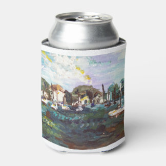 Put-n-Bay Lake Erie Island Painting #2 Can Cooler
