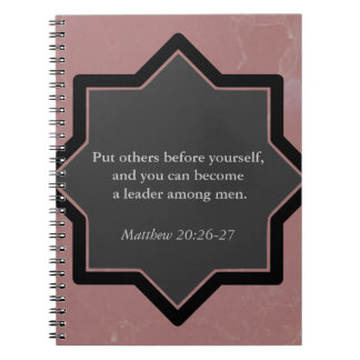 Put Others Before Yourself Business Notebook. Notebooks