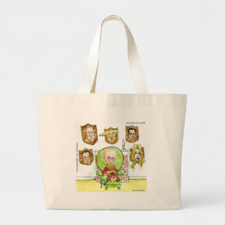 Putin The Hunter Gets Not My President Trump Large Tote Bag