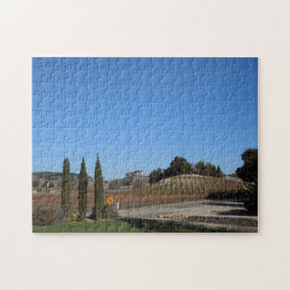 Puzzle: Aron Hill Vineyards after Frosts Jigsaw Puzzle