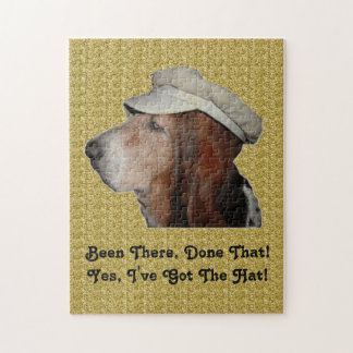 Puzzle Basset Hound Been There Done That