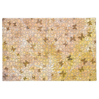 Puzzle Butterflies and Daisies-Browns by STaylor Doormat