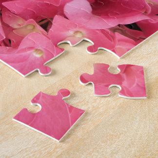 Puzzle - Dark Pink Hydrangeas