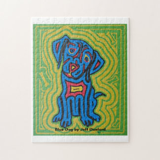 Puzzle featuring pet art by Jeff Danford