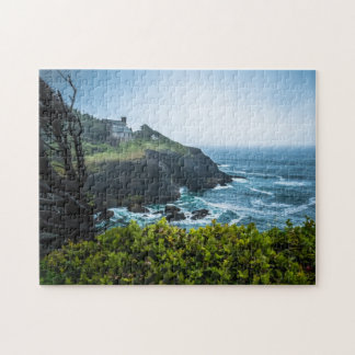 Puzzle: House On Otter Crest Jigsaw Puzzle