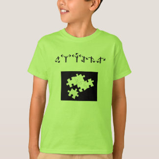 puzzle-pieces, AUTISM T-Shirt