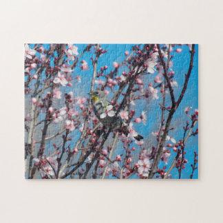 Puzzle - Springtime Sparrow